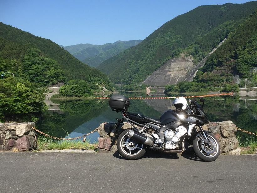 有馬ダム、バイク、ツーリング