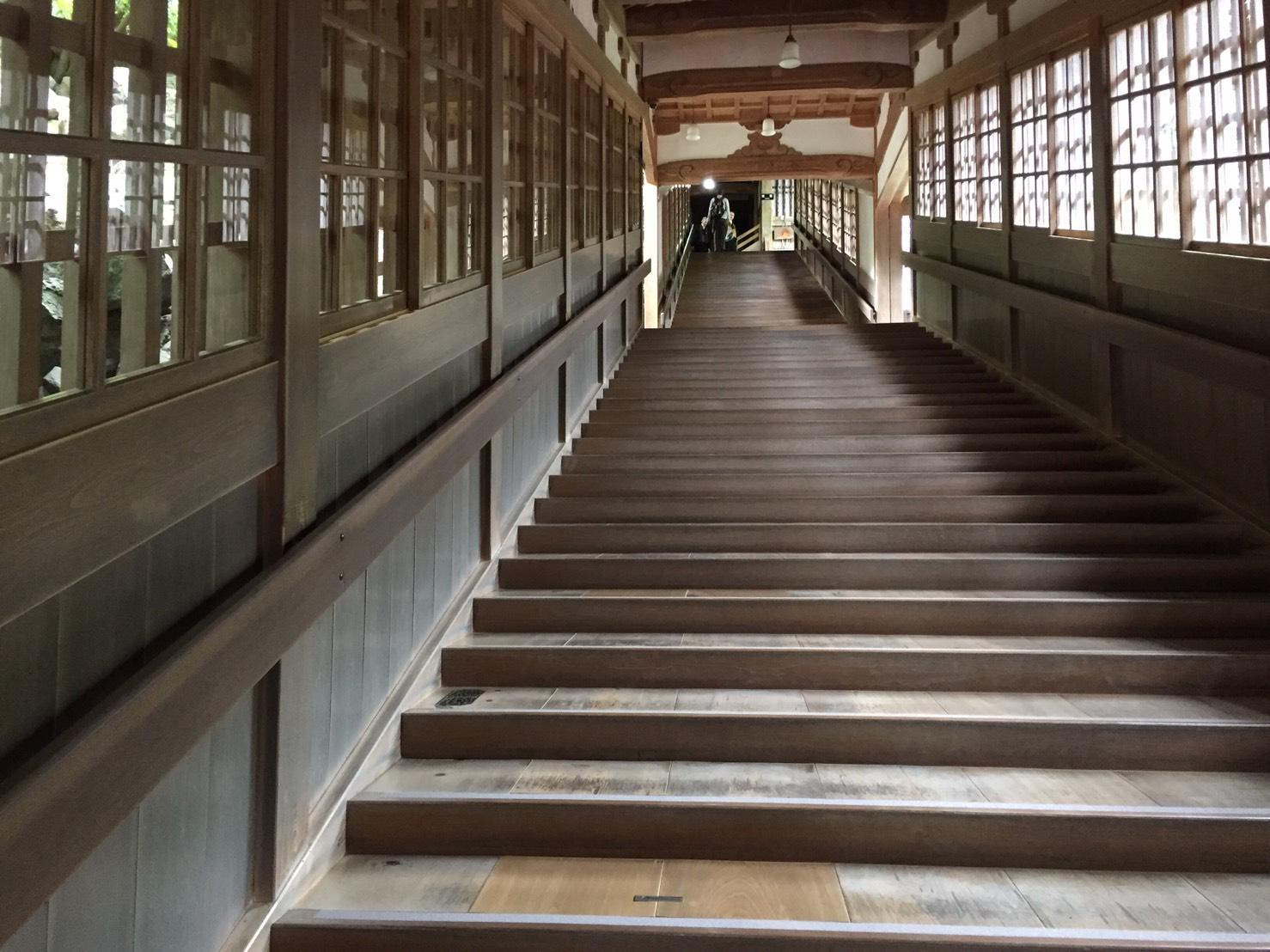 永平寺の寺の中