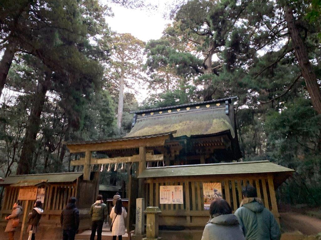 鹿島神宮の参拝者