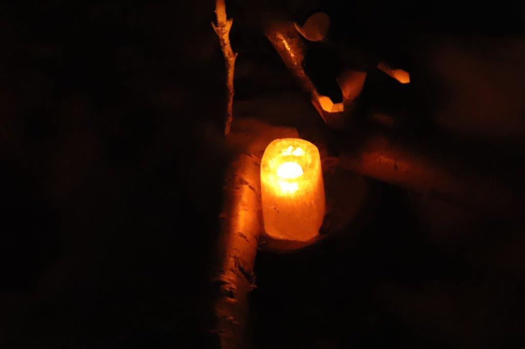幻想的な灯り